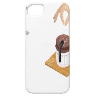 Twenty-eighth February - Chocolate Souffle Day iPhone SE/5/5s Case