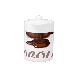 Twenty-eighth February - Chocolate Soufflé Day Teapot