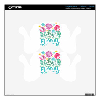 Twenty-eighth February - Floral Design Day PS3 Controller Skins