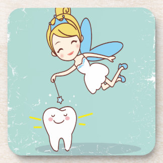Twenty-eighth February - Tooth Fairy Day Beverage Coaster