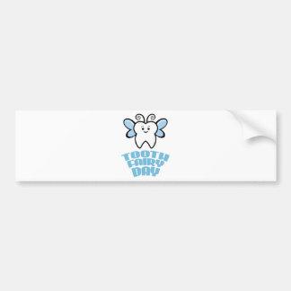 Twenty-eighth February - Tooth Fairy Day Bumper Sticker
