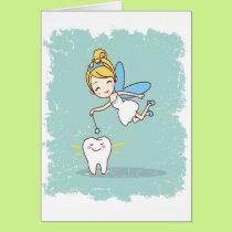 Twenty-eighth February - Tooth Fairy Day Card