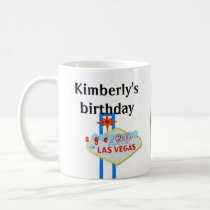 Twenty-first Birthday in Las Vegas Coffee Mug