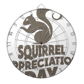 Twenty-first January - Squirrel Appreciation Day Dart Board