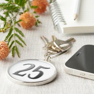 Twenty Five Keychain