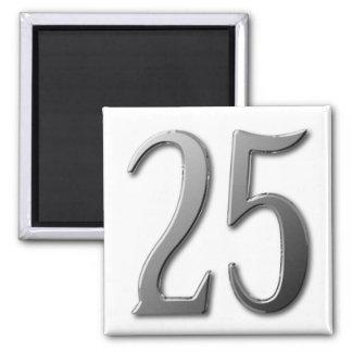 Twenty Five Magnet