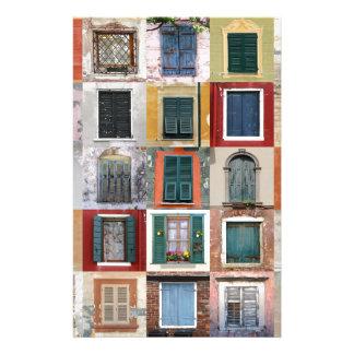 Twenty Five Windows Stationery