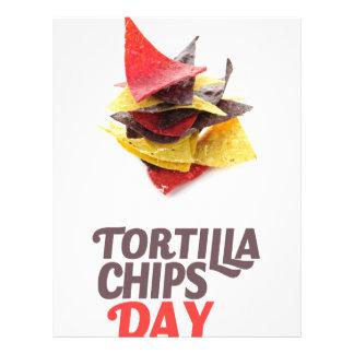 Twenty-fourt February - Tortilla Chip Day Letterhead
