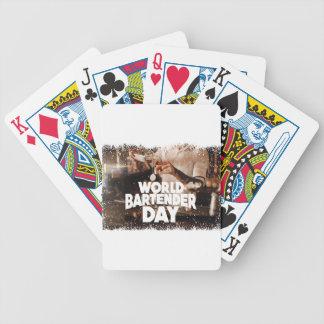 Twenty-fourth February - World Bartender Day Bicycle Playing Cards
