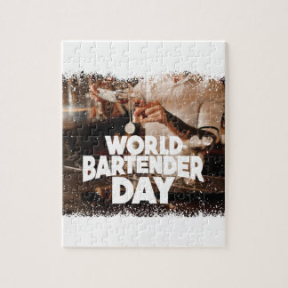 Twenty-fourth February - World Bartender Day Jigsaw Puzzle