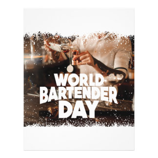 Twenty-fourth February - World Bartender Day Letterhead