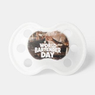 Twenty-fourth February - World Bartender Day Pacifier