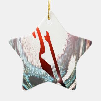 TWENTY-ONE ( 21st  BIRTHDAY ) Ceramic Ornament