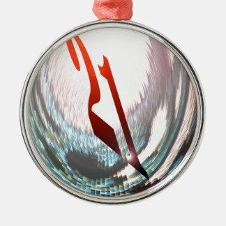 TWENTY-ONE ( 21st  BIRTHDAY ) Metal Ornament