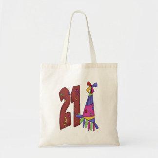 Twenty One (birthday) Tote Bags