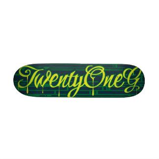 Twenty One G Skate Decks