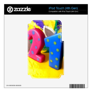 Twenty One iPod Touch 4G Decal