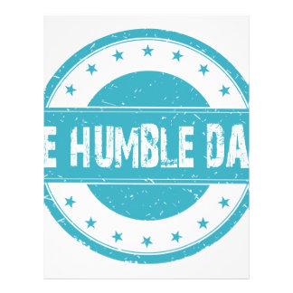 Twenty-second February - Be Humble Day Letterhead