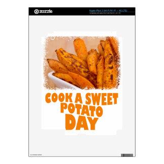 Twenty-second February - Cook a Sweet Potato Day iPad 3 Decals