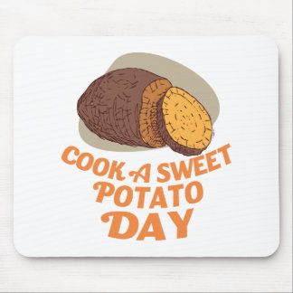Twenty-second February - Cook a Sweet Potato Day Mouse Pad
