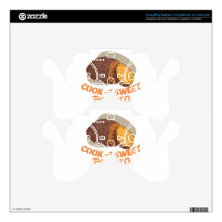 Twenty-second February - Cook a Sweet Potato Day PS3 Controller Decal