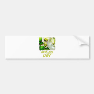 Twenty-second February - Margarita Day Bumper Sticker