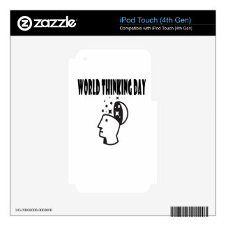 Twenty-second February - World Thinking Day Decal For iPod Touch 4G