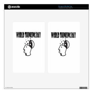 Twenty-second February - World Thinking Day Kindle Fire Skin