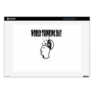 Twenty-second February - World Thinking Day Laptop Skin