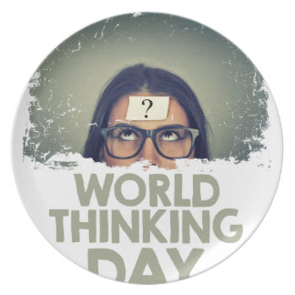 Twenty-second February - World Thinking Day Melamine Plate