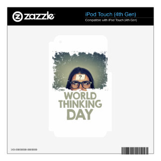 Twenty-second February - World Thinking Day Skin For iPod Touch 4G