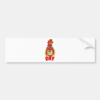 Twenty-second January - Hot Sauce Day Bumper Sticker