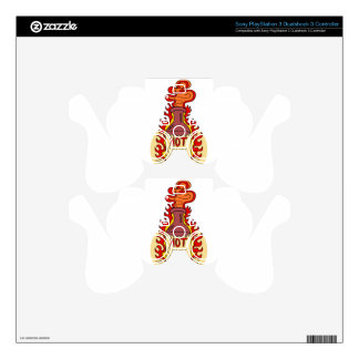 Twenty-second January - Hot Sauce Day PS3 Controller Decal