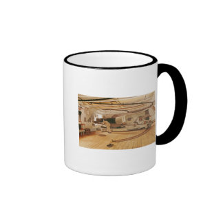 Twenty-Seven Pound Cannon on a Battleship Ringer Mug