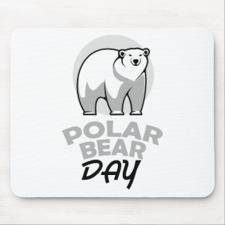 Twenty-seventh February - Polar Bear Day Mouse Pad