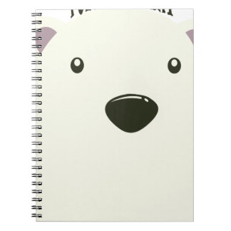 Twenty-seventh February - Polar Bear Day Spiral Notebook