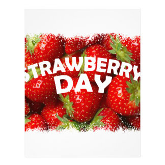 Twenty-seventh February - Strawberry Day Letterhead