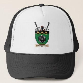 Twenty-Sided Warriors Unite! Trucker Hat
