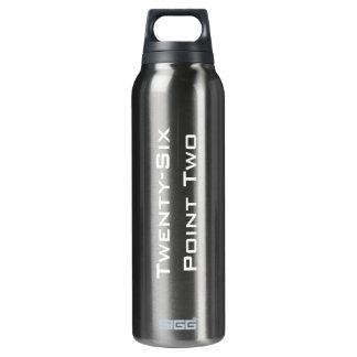 Twenty-Six Point Two (26.2) Custom 16 Oz Insulated SIGG Thermos Water Bottle