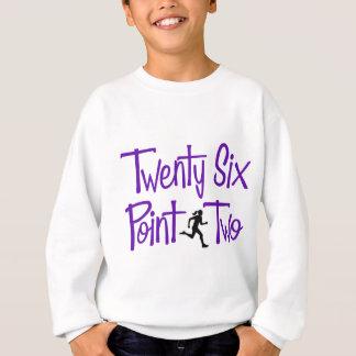 Twenty Six Point Two hers, purple Sweatshirt