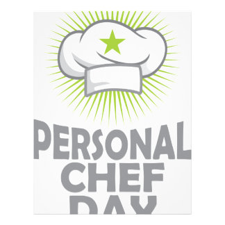 Twenty-sixth February - Personal Chef Day Letterhead