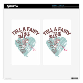 Twenty-sixth February - Tell A Fairy Tale Day Decal For Kindle Fire