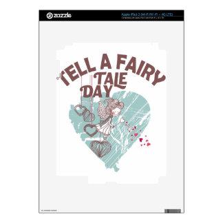 Twenty-sixth February - Tell A Fairy Tale Day Decals For iPad 3
