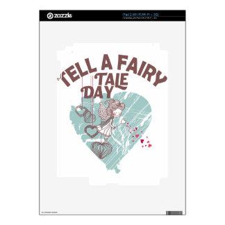 Twenty-sixth February - Tell A Fairy Tale Day iPad 2 Decal