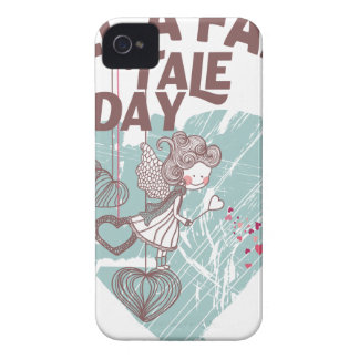 Twenty-sixth February - Tell A Fairy Tale Day iPhone 4 Case-Mate Case