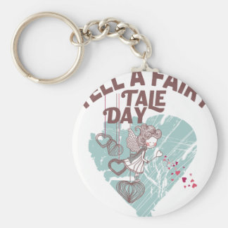 Twenty-sixth February - Tell A Fairy Tale Day Keychain