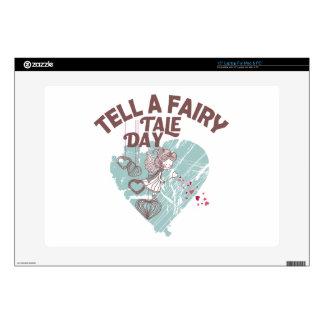 Twenty-sixth February - Tell A Fairy Tale Day Laptop Decal