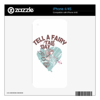Twenty-sixth February - Tell A Fairy Tale Day Skin For iPhone 4S