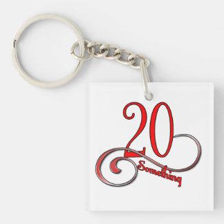 Twenty Something Keychain
