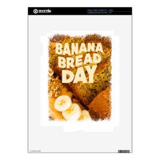 Twenty-third February - Banana Bread Day Decals For iPad 2